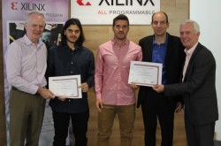 VINEYARD receives award from Xilinx Open Hardware Competition 2017